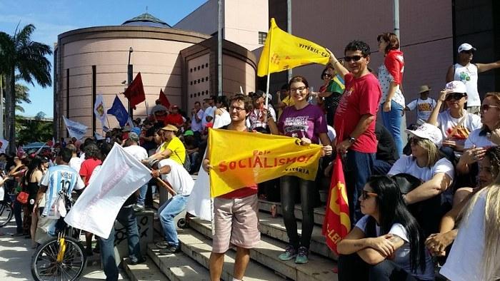 PCML/CE - Manifestação da Greve Geral em Vitória - ES