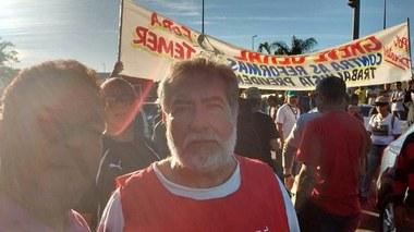 Manifestação da Greve Geral no Rio de Janeiro na Cedae