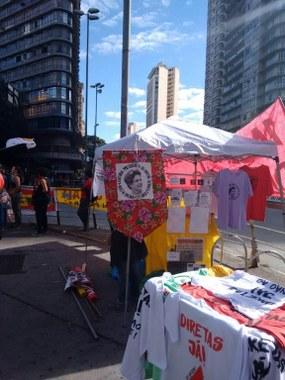 Preparação manifestação da Greve Geral em Belo Horizonte, Minas Gerais - PCML/BH