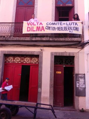 Greve Geral no Rio de Janeiro sede Inverta Cooperativa