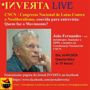 Inverta entrevista João Fernandes - membro do CNCN