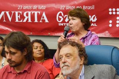 Margarida Merece traz mensagem do Centro Cultural Casa das Américas