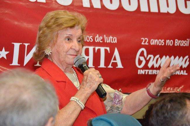 Olga Amélia ressalta internacionalismo da atividade