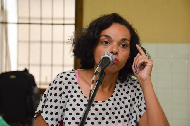 Paula Conceição se apresenta no Almoço Cultural