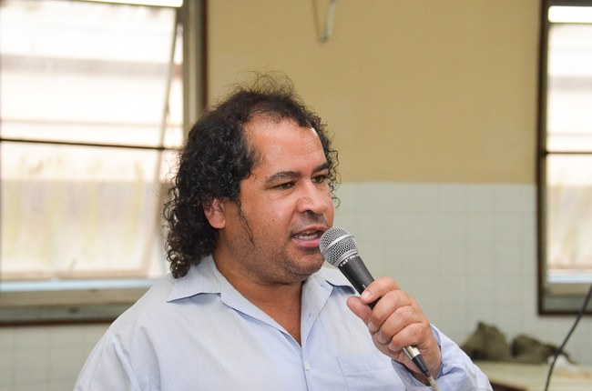 Silvio Poeta da Rádio Comunitária de Nova Fribugo