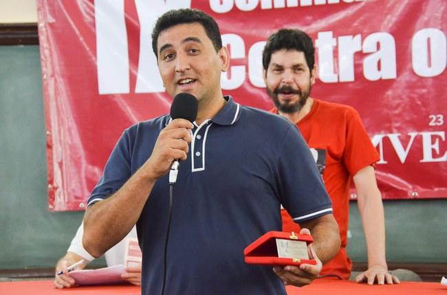 Carlos Diego Andrade recebe Comenda Imprescindível