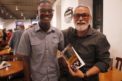 Luis Miguel, do movimento estudantil e J5J, e o autor