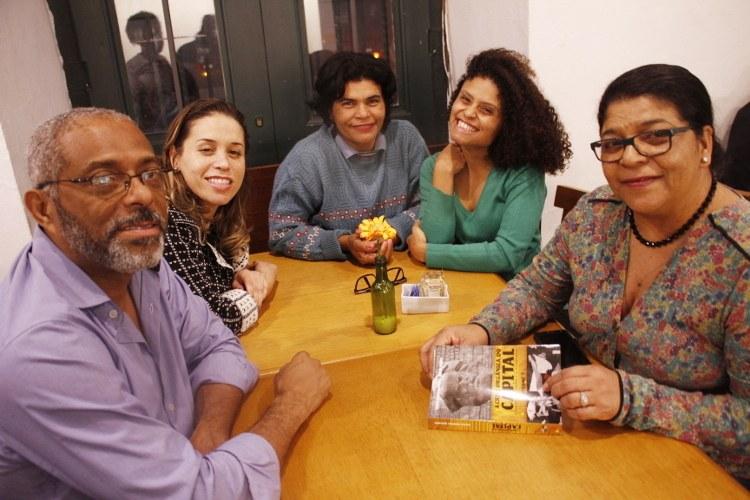 Prof. Josiel Morais(CEPPES), Arquiteta Gabriela, Pedagoga Denise Alves(PCML), a Geógrafa Beatriz Morais(J5J) e Janete