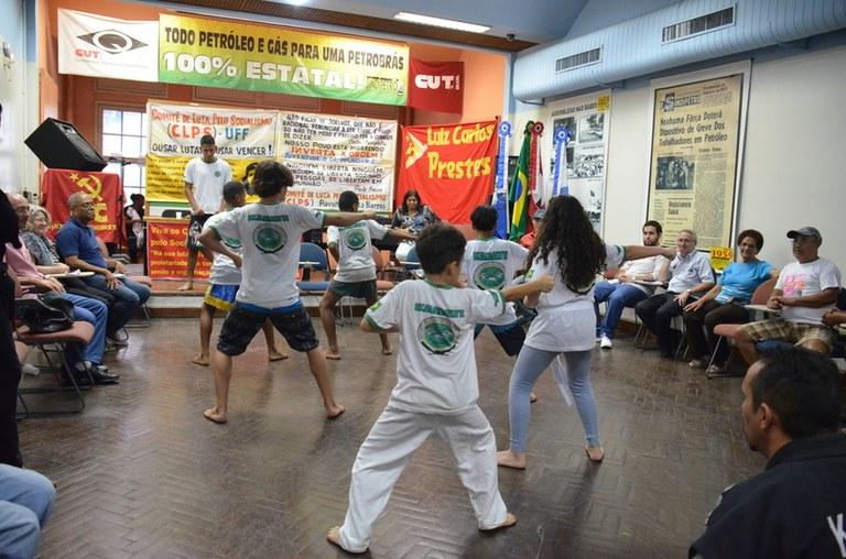 CLPS de Costa Barros traz trabalho com Karate do Mestre Stallone