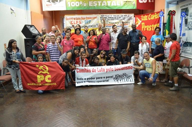 Comitês de Luta pelo Socialismo, uma grande iniciativa!