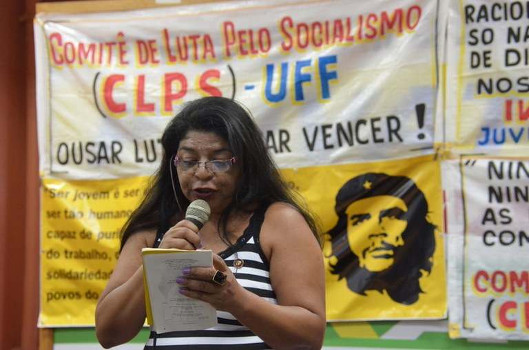 Janete Alves do CLPS de Itaboraí
