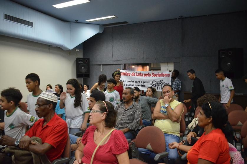 Público lota auditório do Sindipetro-RJ