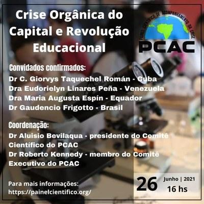 Crise Orgânica do Capital e Revolução Educacional