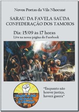 Sarau na Favela Saúda Lutas Populares - Confederação dos Tamoios