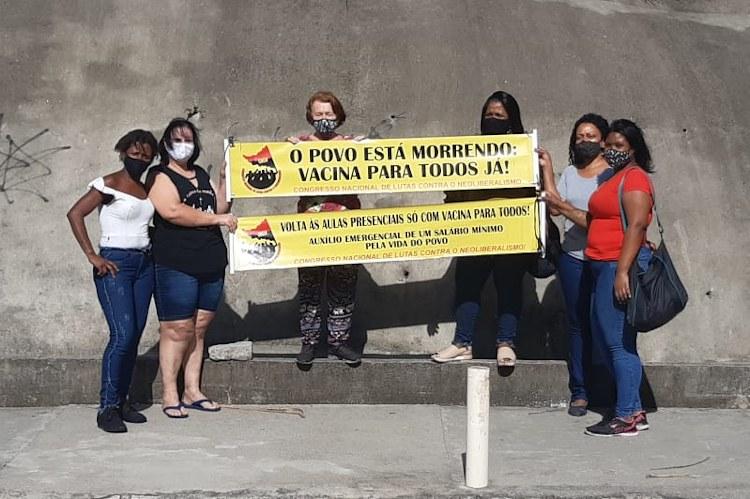 Comitê de Nova Friburgo do CNCN por um auxílio emergencial de um salário mínimo