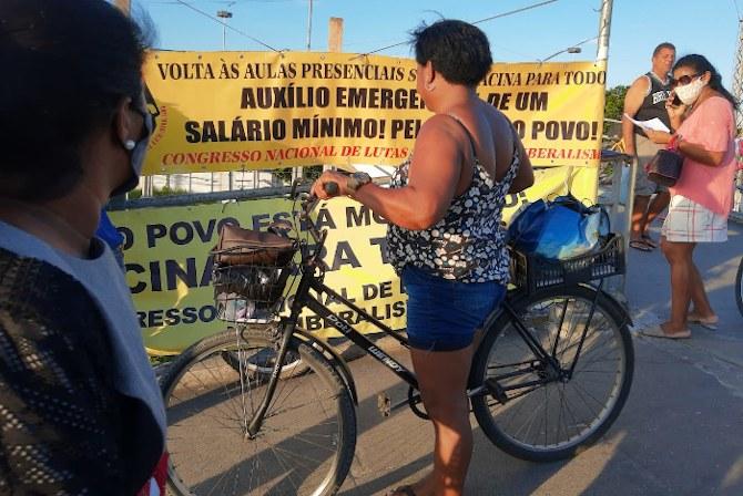 Comitê da Baixada Fluminense do CNCN, Pela vida do povo!