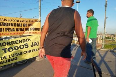 Comitê da Baixada Fluminense do CNCN, Vacina para todos já!