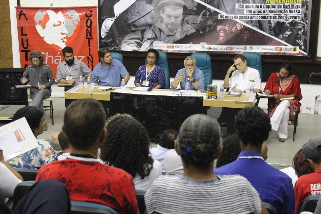 Lançamento do livro A Crise Orgânica do Capital: o valor, a ciência e a educação do Prof. Dr. Aluisio Pampolha Bevilaqua