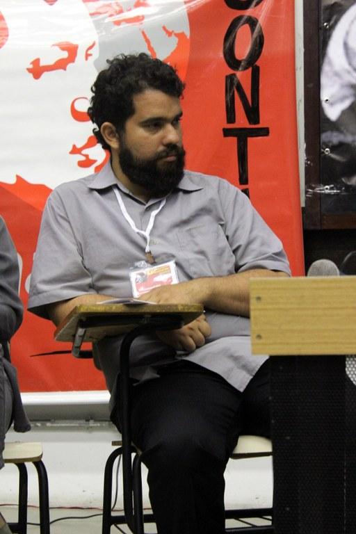 Sebastião Carvalho Neto - Artista Gráfico responsável pela obra