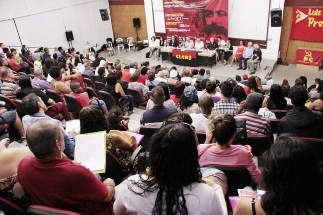 Auditório do seminário lotado no dia 22 de setembro na UERJ