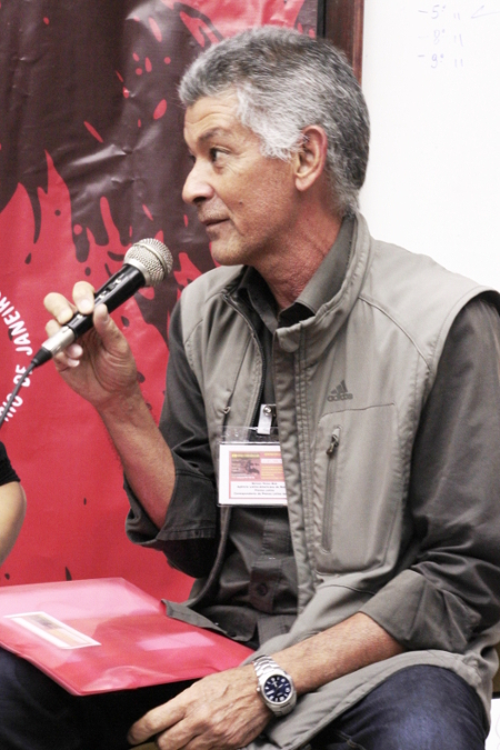 Correspondente da Prensa Latina no Brasil, jornalista Moises Perez Mok