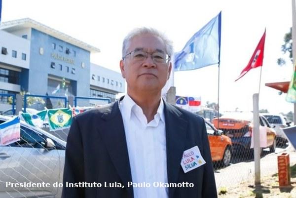Presidente do Instituto Lula - Paulo Okamotto