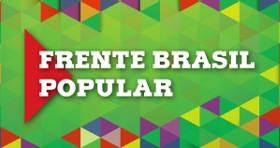 Frente Brasil Popular portlet